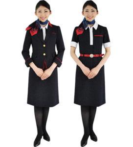 JAL旧制服